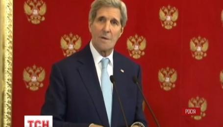 Встреча Джона Керри и Владимира Путина накануне продолжалась три с половиной часа
