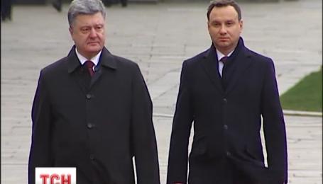 Президент Польщі Анджей Дуда привіз до Києва хороші новини