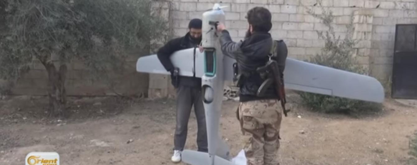 Сирійські ісламісти показали збитий російський безпілотник