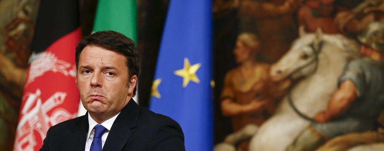 Прем'єр Італії розповів, коли ЄС перегляне режим санкцій проти Росії