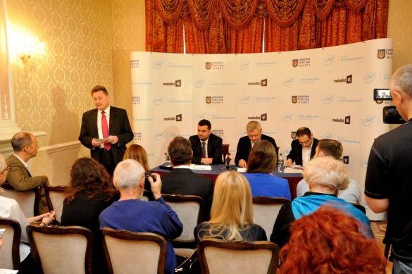 Прес-конференція в посольстві України у Великобританії