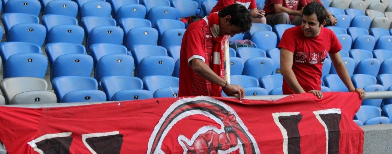 Фанат ізраїльського футбольного клубу намагався пронести на сектор суперника гранату