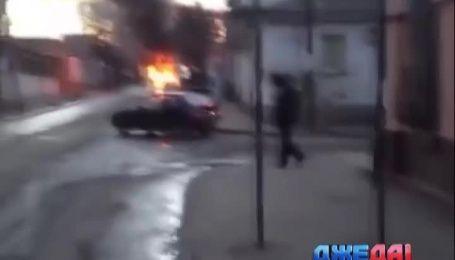 В Симферополе взорвался автомобиль с газовым оборудованием