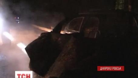 У Дніпропетровську сталася пожежа на газовій заправці