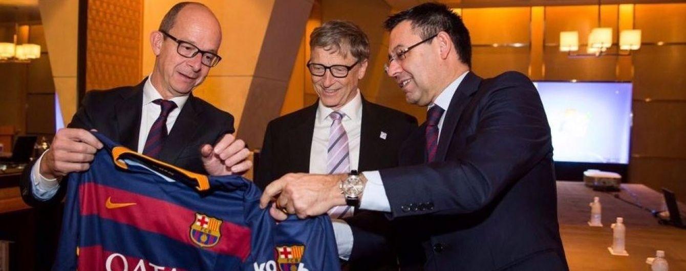"""""""Барселона"""" и """"папа"""" Microsoft Билл Гейтс создадут детский клуб"""