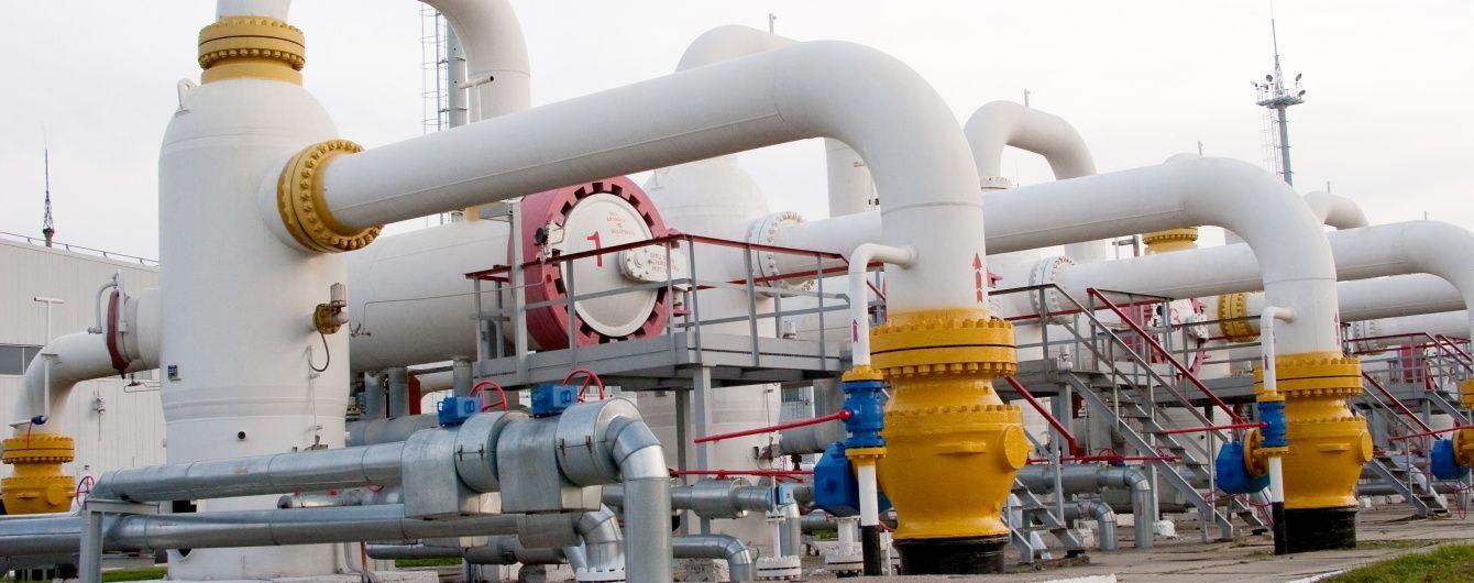 Україна відмовилась купувати газ в Росії у третьому кварталі 2016