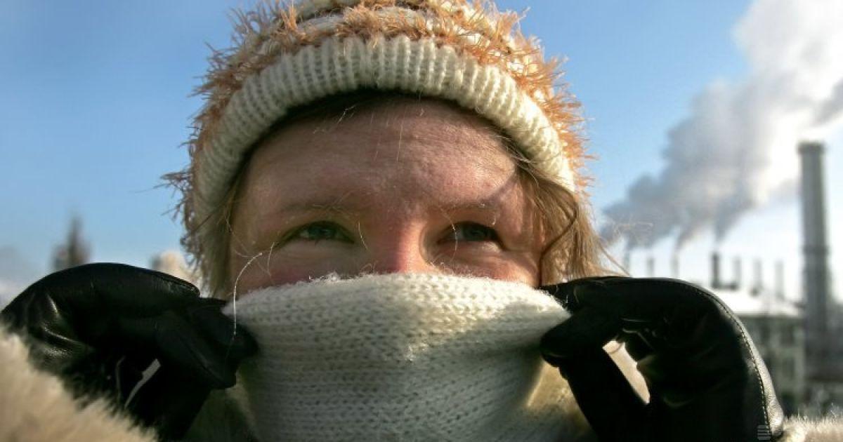 В Украину пришла сухая морозная погода