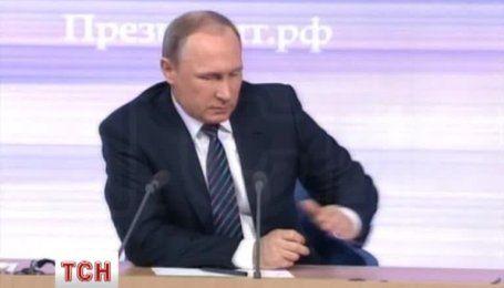 Путин заявил, что никогда не отрицал, что на Донбассе есть россияне