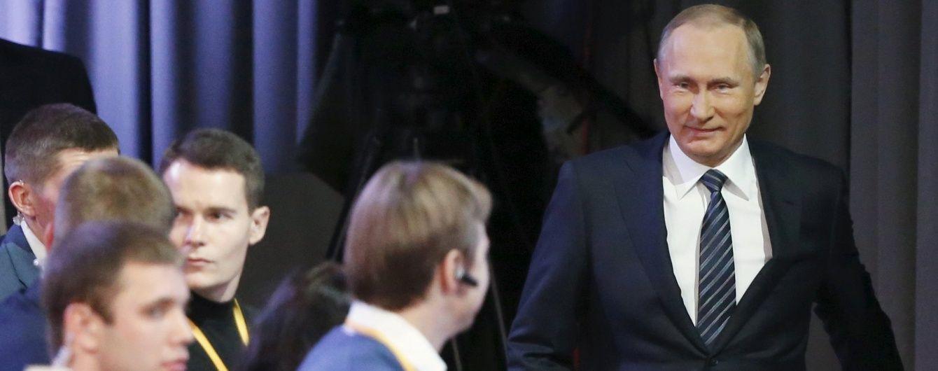 Прес-конференція Путіна за підсумками 2015 року. Хроніка