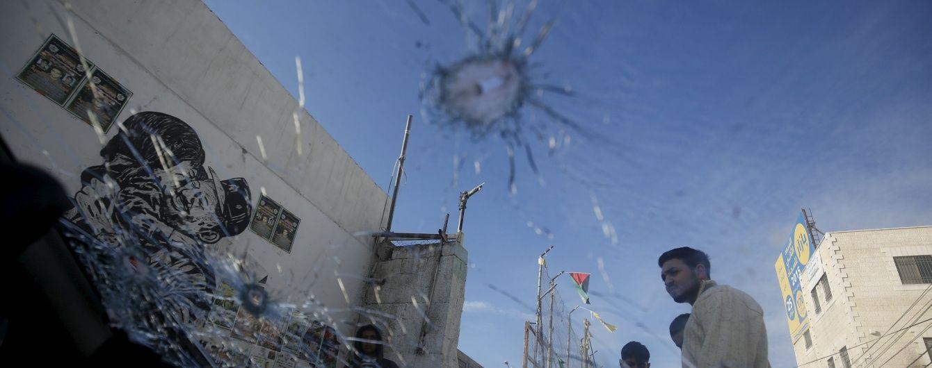 У Палестині ізраїльські солдати застрелили терориста
