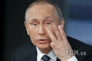 Трехчасовая конференция Путина в одном изображении. Инфографика