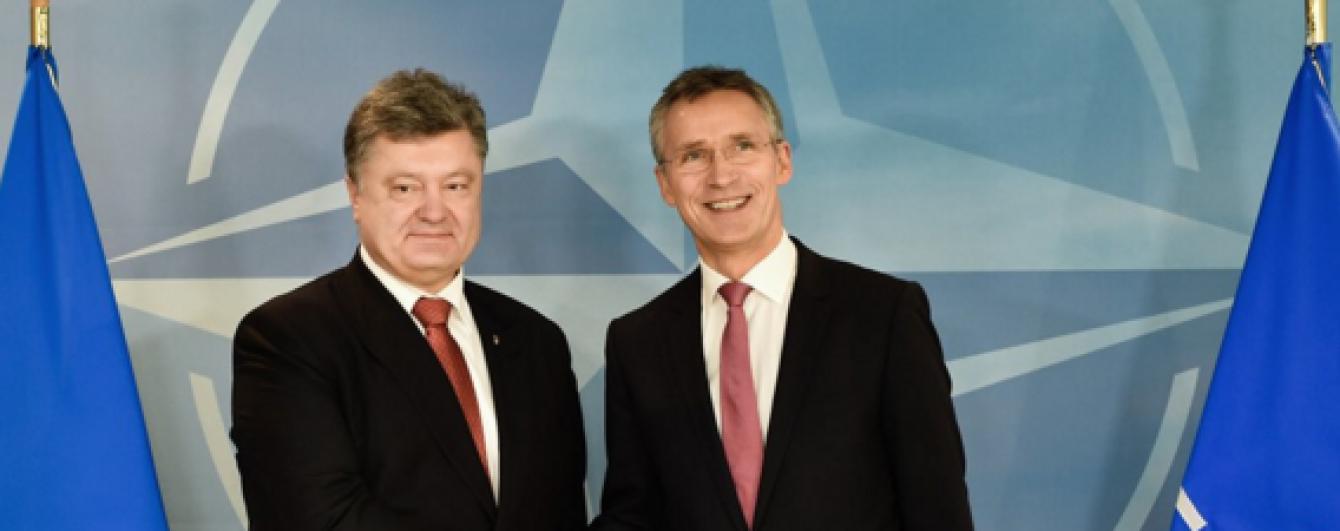 Україна готова взяти участь у саміті НАТО - Порошенко