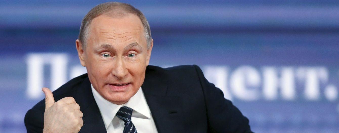 Пєсков розкрив плани Путіна щодо святкування Нового року