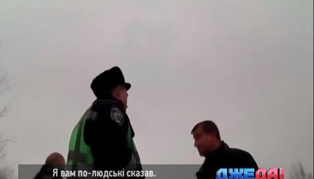 Во Львове водитель навеселе демонстрировал полиции свои знания юриспруденции