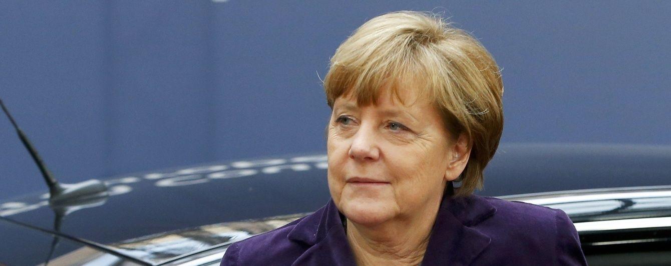 Меркель хоче зменшення потоку біженців до ЄС при збереженні відкритих кордонів