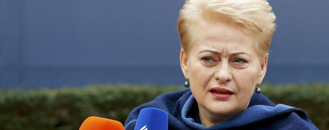 Президент Литви про політику Путіна: Ми маємо бути готові до всього