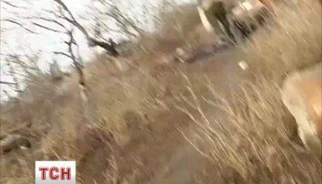 Бойовики відкрили вогонь по Широкиному під час роботи знімальної групи ТСН