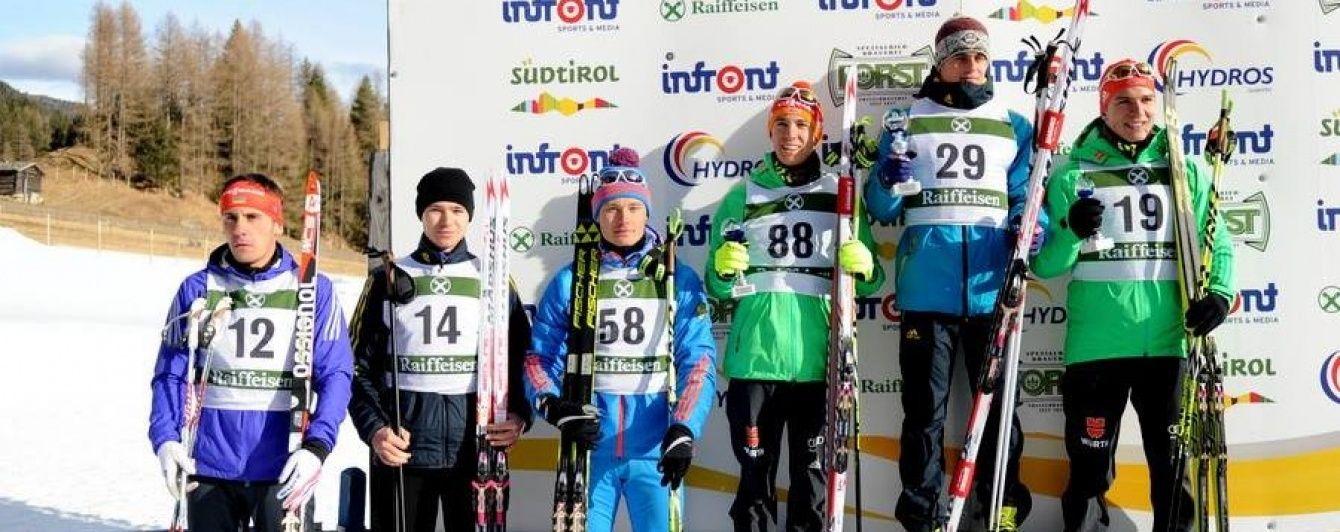 Україна завоювала першу золоту медаль юніорського кубка світу з біатлону