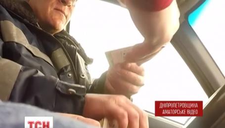 На Днепропетровщине на взяточничестве поймали полицейских
