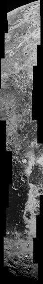 NASA показала висячие долины Плутона