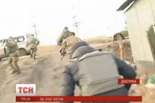 Бойовики почали накривати Широкине вогнем з кулеметів: журналісти ТСН потрапили під обстріл