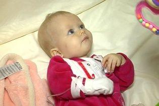9-місячна Марійка з Вінниці потребує термінової допомоги