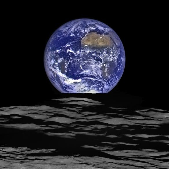 Фото Землі з Місяця1