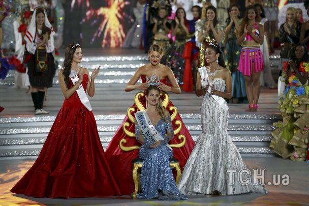 Міс світу-2015: іспанка святкує перемогу, українка не потрапила до топ-20