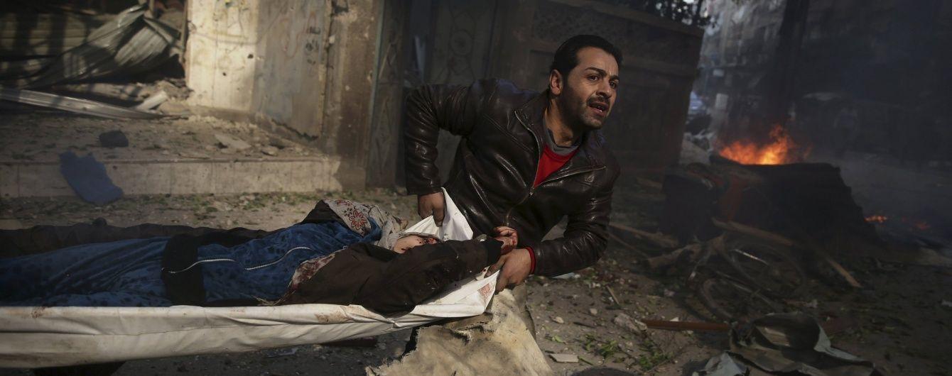 Жертвами російських касетних бомб стали восьмеро мирних сирійців - ЗМІ