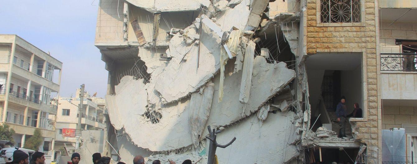 """Amnesty назвала """"безглуздими"""" виправдання Москви про жертв авіаударів серед мирних сирійців"""