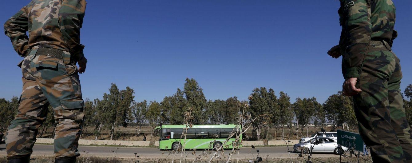 У Дамаску підірвався автобус із сирійськими військовими