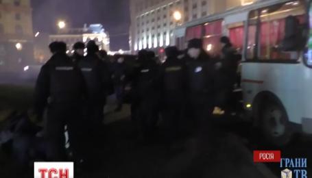 Московская полиция отпустила четырех из семи задержанных участников акции протеста