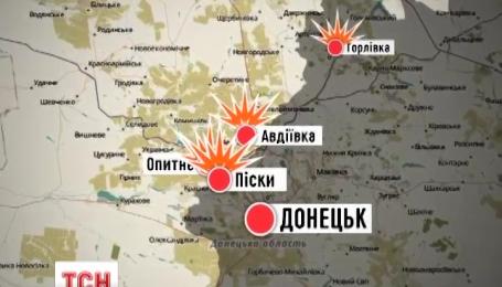 57 обстрілів за останню добу нарахував на Донбасі штаб АТО