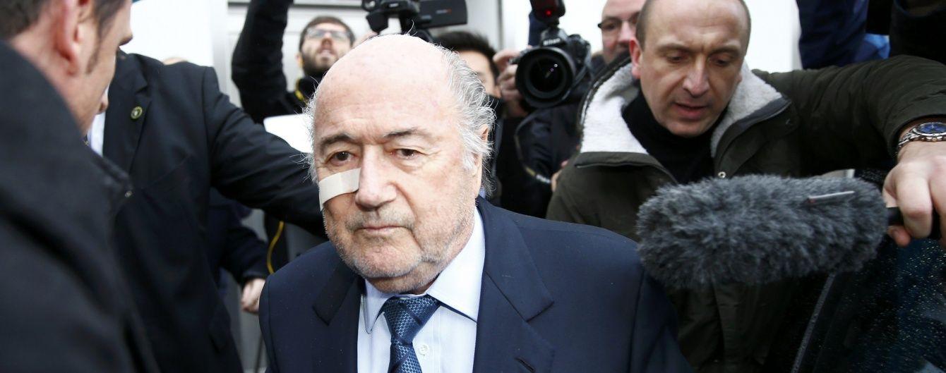 Блаттер та його підлеглі навиписували собі бонусів на 80 мільйонів євро
