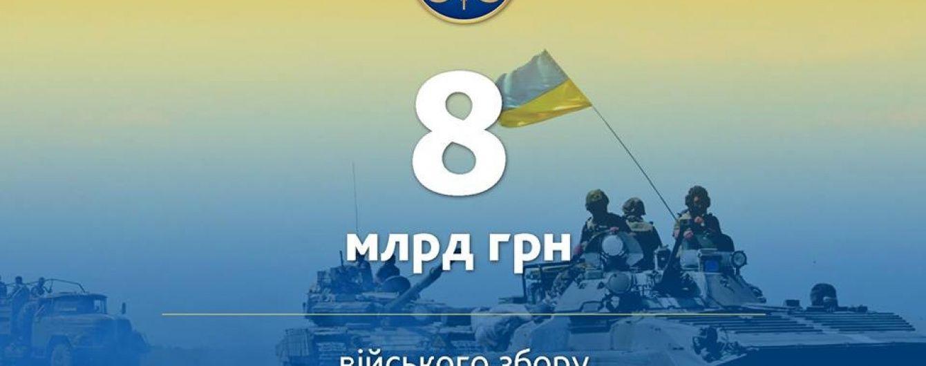 Чиновники порахували, скільки мільярдів гривень військового збору стягнули з українців