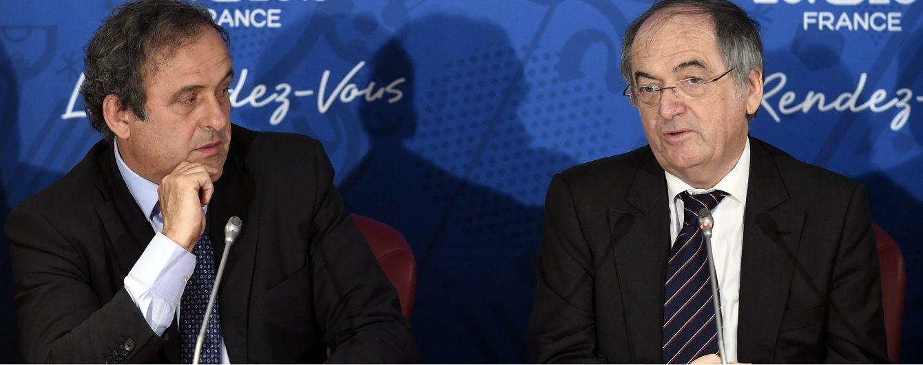 Федерація футболу Франції підтримала дискваліфікованого Платіні