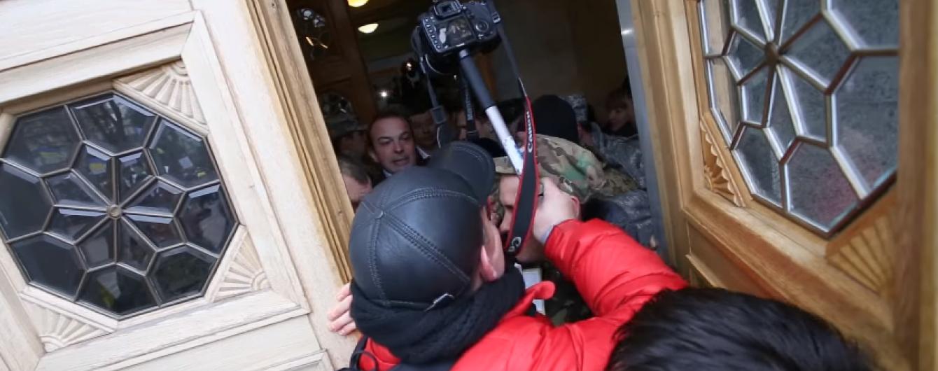 Соболєв запевнив, що погрожував гранатою алегорично