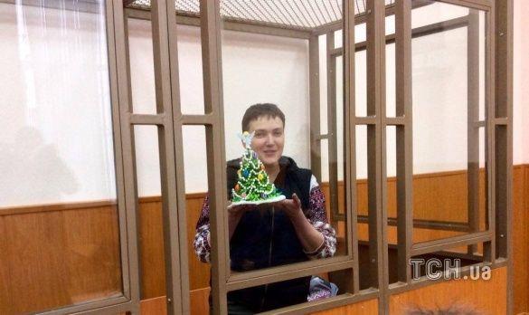 савченко на суді на 6 день голодування