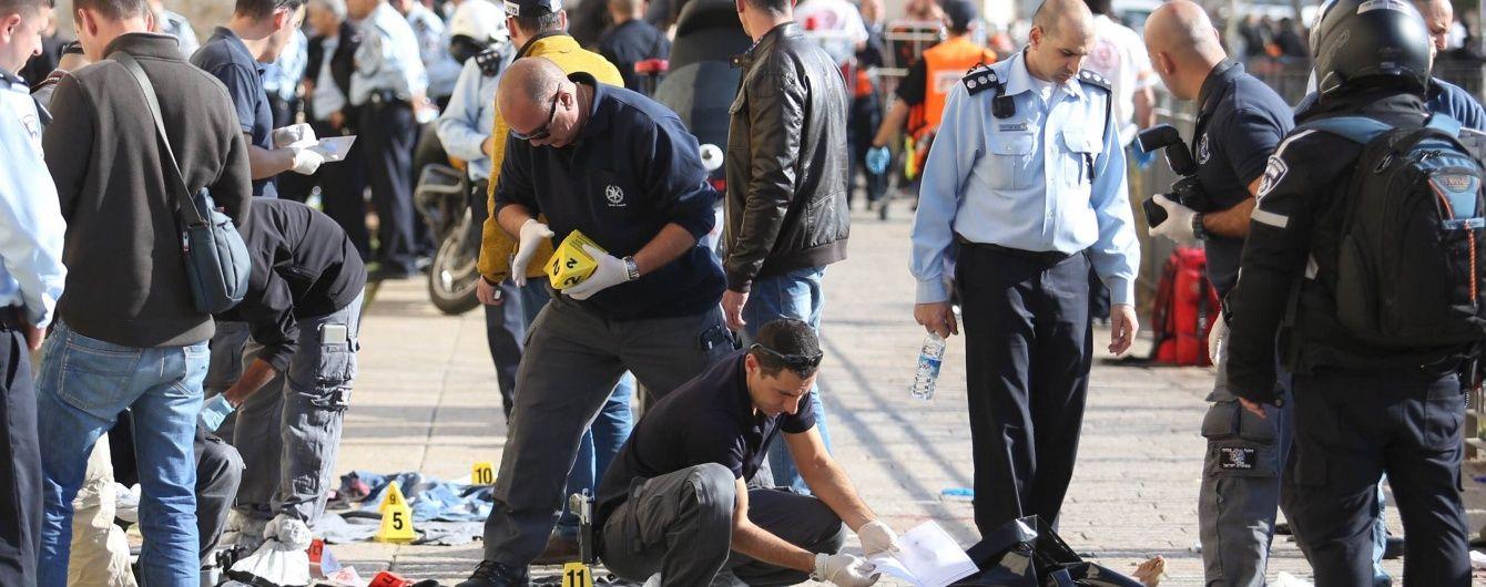 В Єрусалимі палестинці з ножами напали на перехожих: є загиблі та поранені