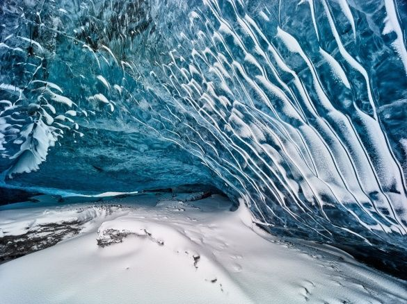 подорож, льодова печера