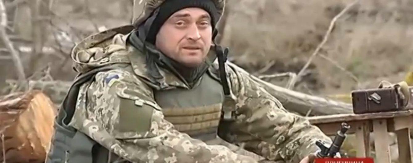 У Комінтерновому бойовики просто на очах в українських військових бетонують укріпрайон