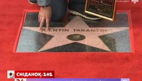 В Квентина Тарантино появилась своя звезда на Аллее Славы