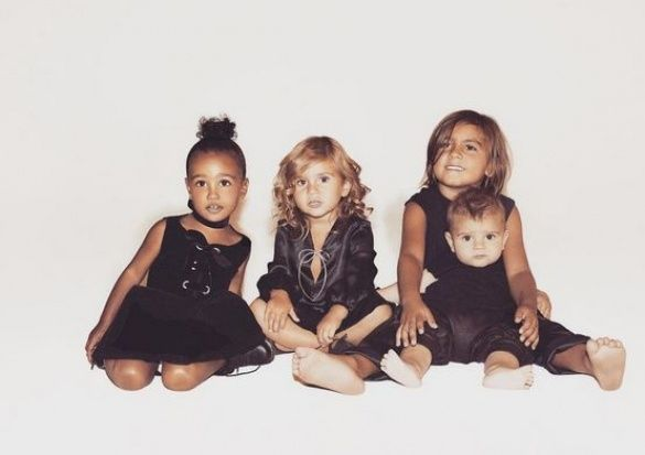 Дети семейства Кардашьян