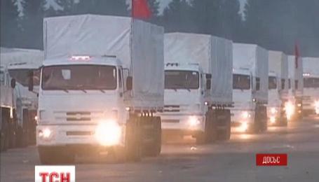 На восток Украины направляется очередной российский гуманитарный конвой