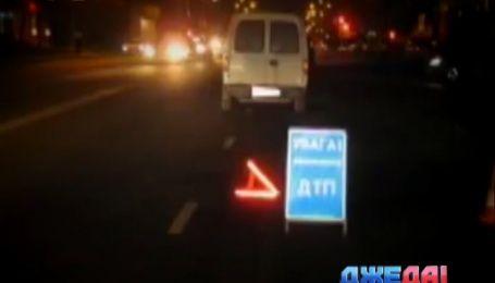 В Сумах двое пьяных пешеходов стали причиной ДТП