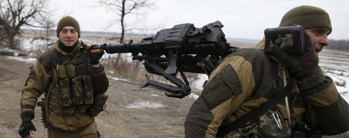 Бойовики зменшили свою активність у зоні АТО