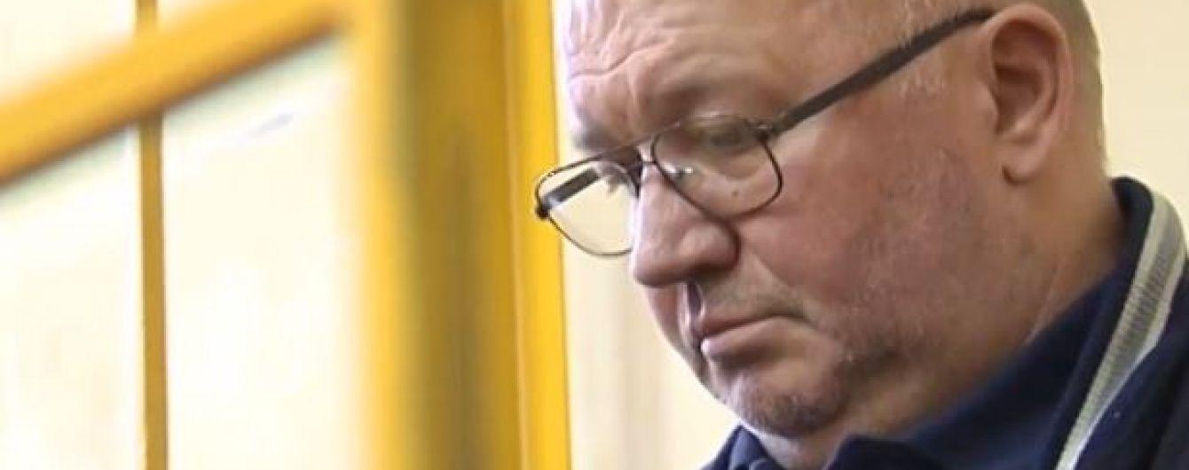 Водій Омельченка потрапив до лікарні у передінфарктному стані
