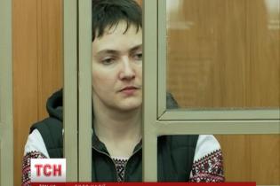 Журналістам заборонили знімати змарнілу Савченко в суді