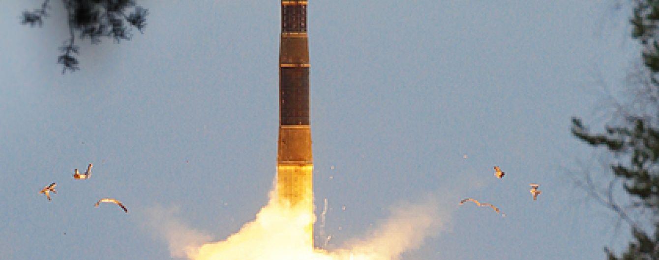 """У РФ похвалилися запуском ракети """"Тополь"""" з новим бойовим оснащенням"""