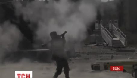 Градом ночью накрыли боевики окрестности Красногоровки
